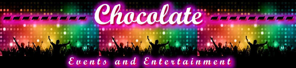 Chocolate Events and Entertainment Header